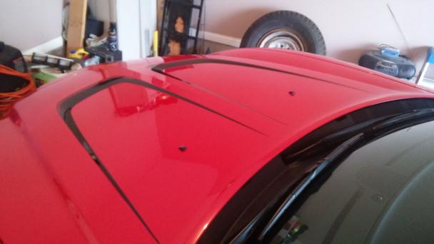 hood 1 2014 Dodge Charger Vinyl Graphics C STRIPE body stripes 2011-2014 Call Us 812-725-1410