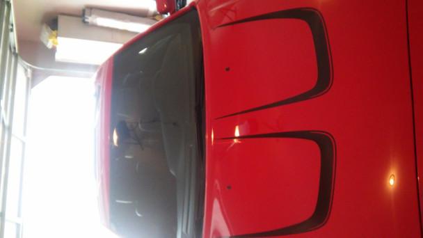 hood 2 2014 Dodge Charger Vinyl Graphics C STRIPE body stripes 2011-2014 Call Us 812-725-1410