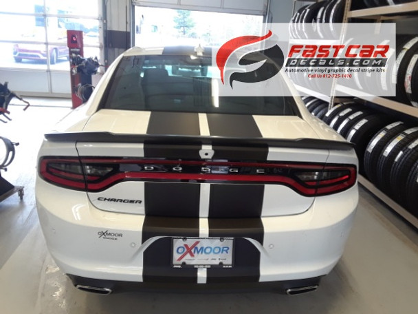 2015 Dodge Charger Racing Stripes 3M N CHARGE 15 2016 2018