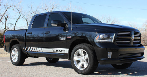 BEST! Dodge Ram Decals Stripes 3M RAM ROCKER STROBE 2009-2018 | FCD Call Us 812-725-1410
