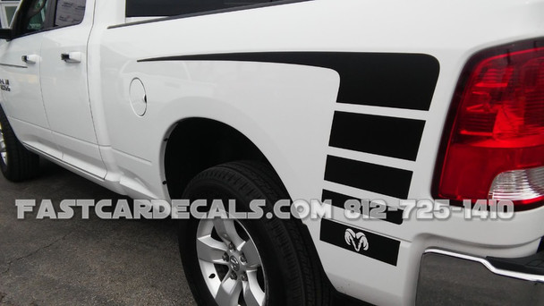Ram Power Wagon Decals POWER vinyl graphics 3M 2009-2018 | FCD Call Us 812-725-1410