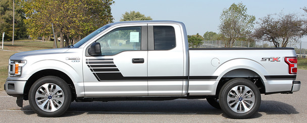 Ford F 150 Side Vinyl Graphics Decals SPEEDWAY 2015-2018 2019