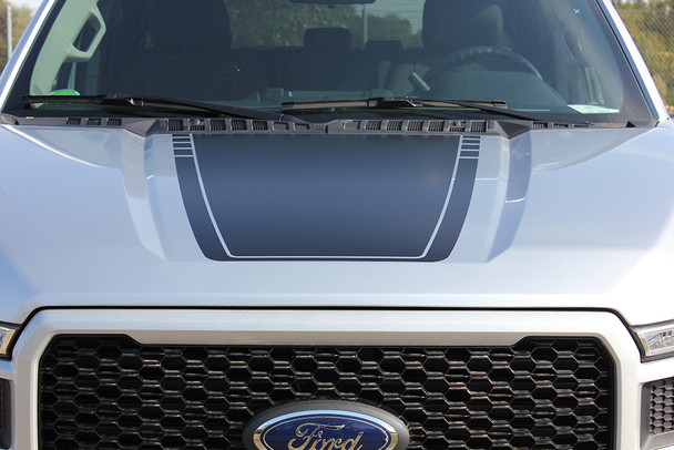 2015-2018 SPEEDWAY HOOD Ford F-150 Stripes NEW Edition Graphics Call Us 812-725-1410