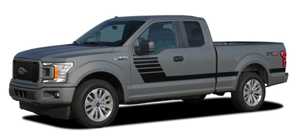 Ford F-150 Truck Bedside Vinyl Graphics LEAD FOOT 2015-2019