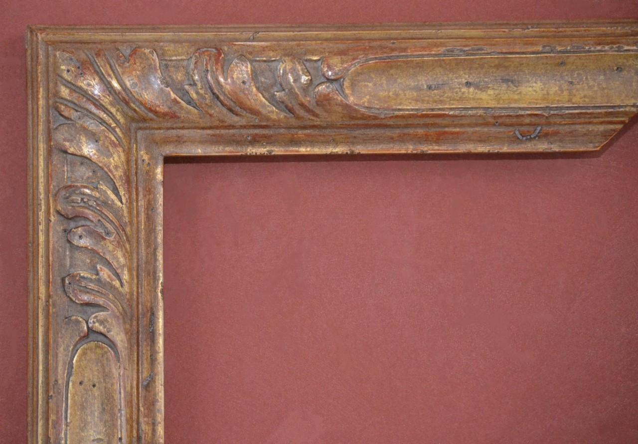Custom Hand Carved, Plein Air picture frame, 22 Karat Gold Leaf - C ...