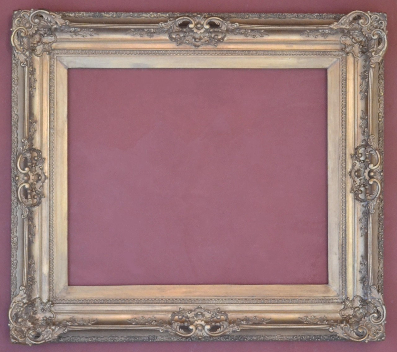 Antique frame - Art size: 25 X 30 inches