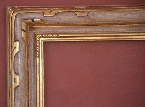 Plein air frames with 4 to 5 inch moulding and gold leaf