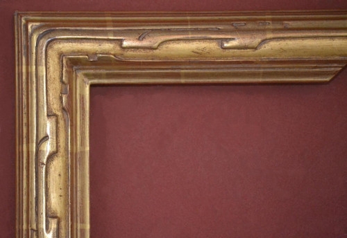 Plein air frames, hand carved from wood with gold leaf