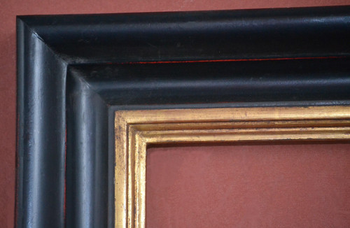 Plein air frames with 3 to 4 inch moulding and gold leaf