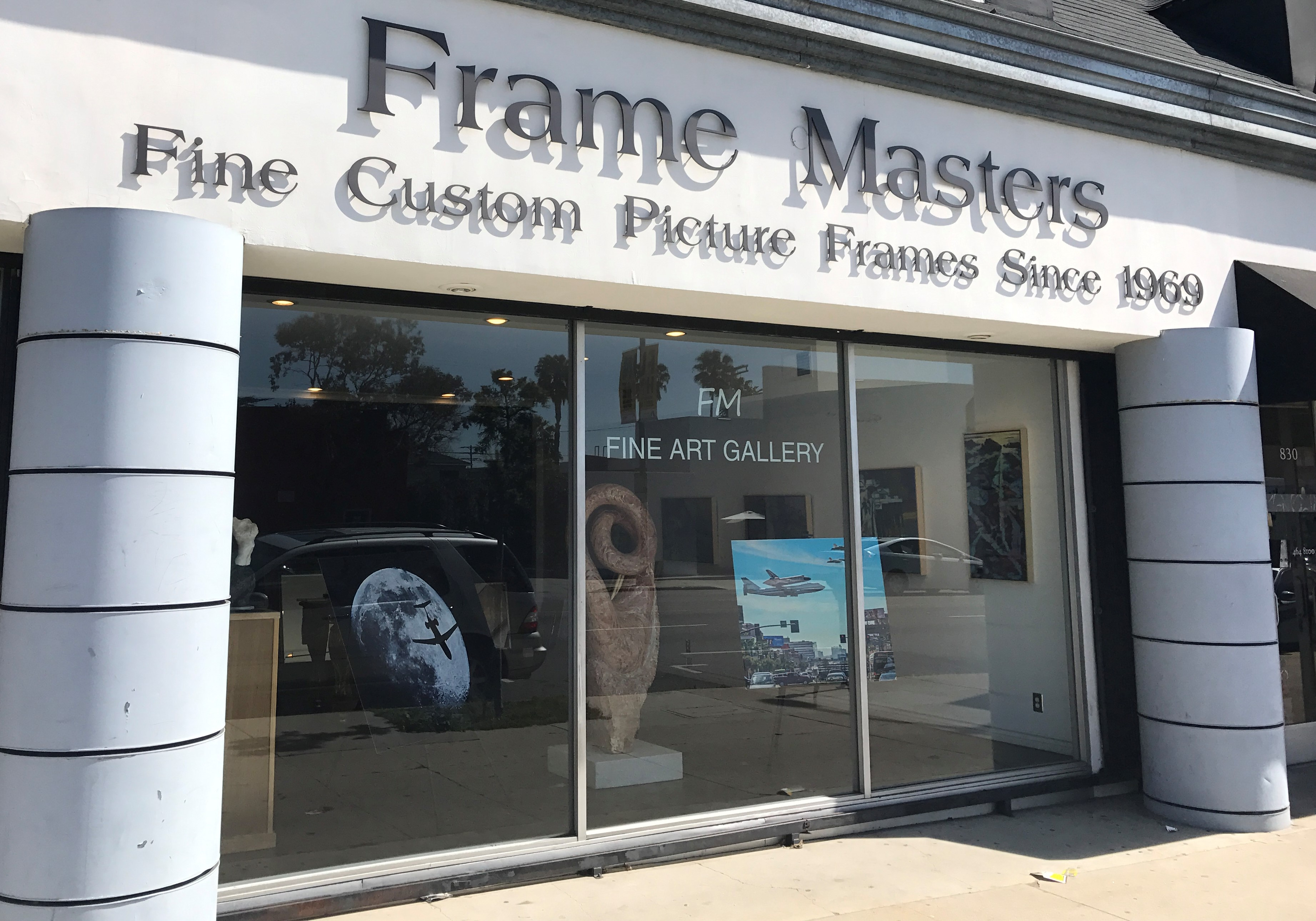 Discount Custom Picture Framing and Picture Frame Store Los Angeles ...