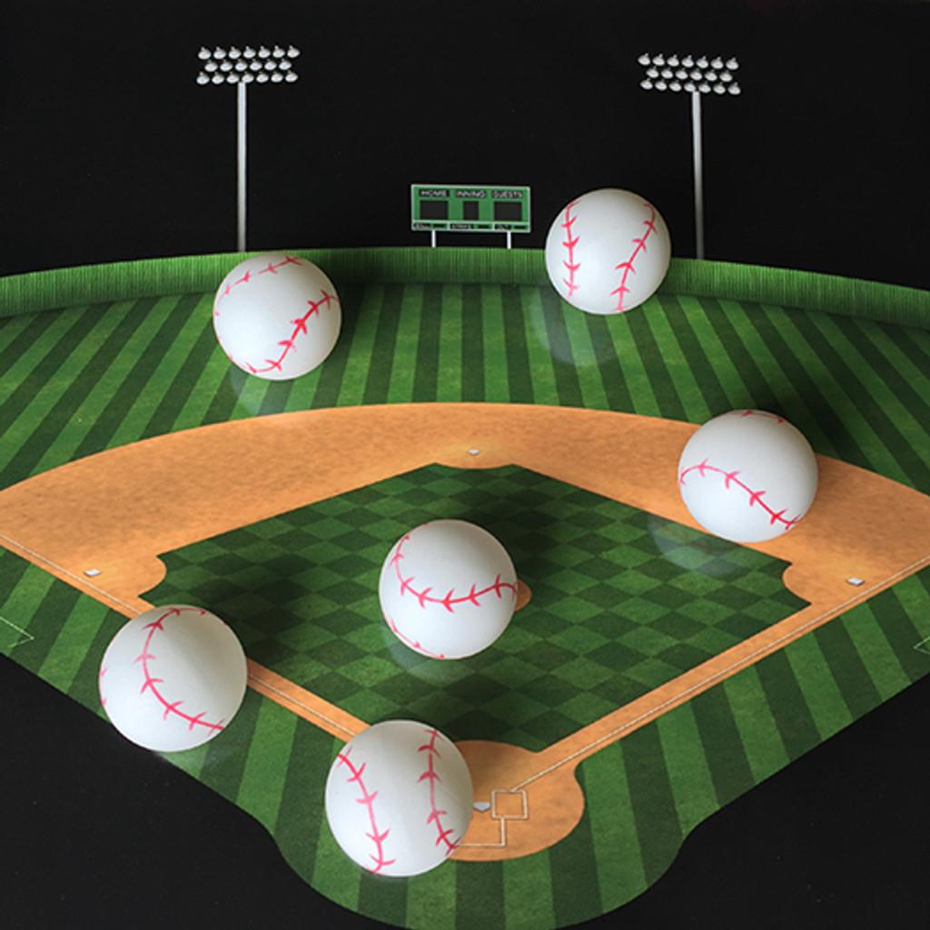 Baseball Ping Pong Ball - 1 Star