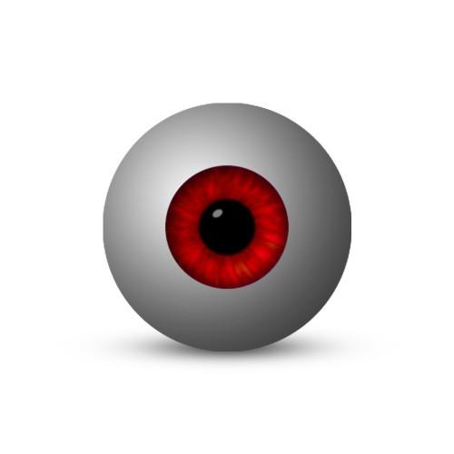 Eyeball - Red (1-Star)