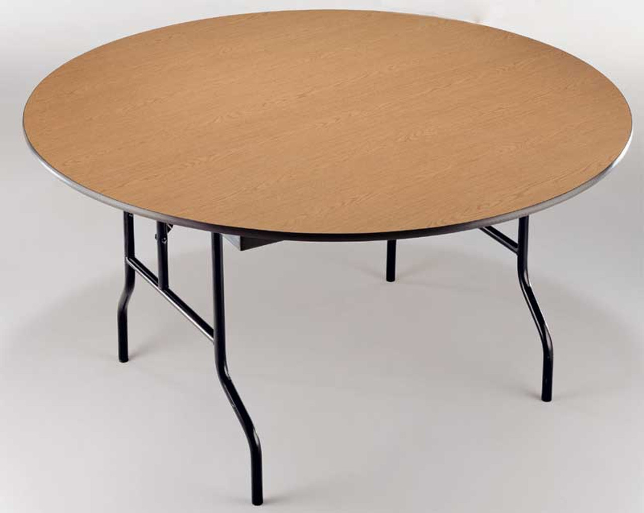 Midwest R48e Plywood Core 48 Inch Round Folding Table L Affordable