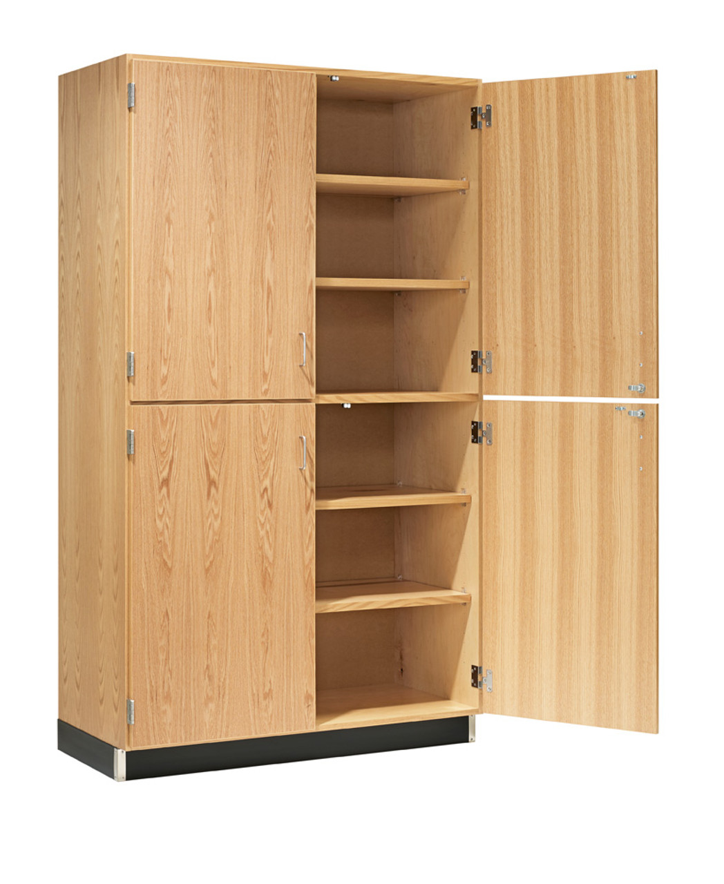 Diversified 356 4822 Tall Storage With Four Oak Veneer Doors