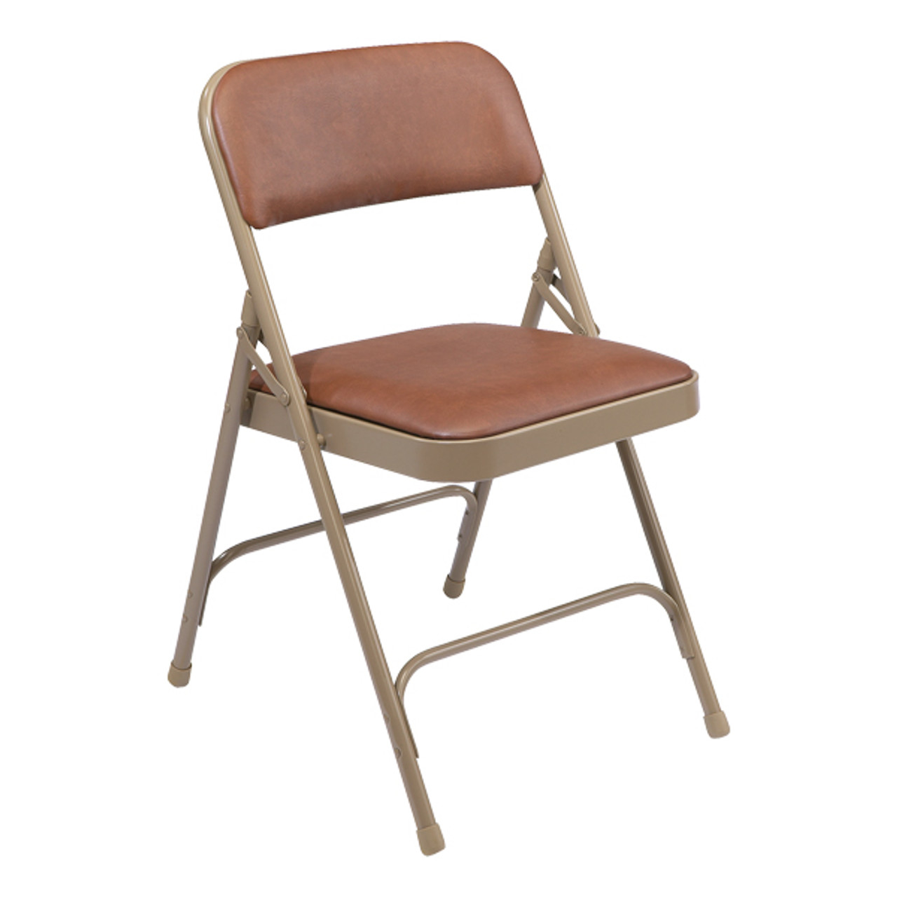 ... National Public Seating 1200 Vinyl Upholstered Premium Folding Chair ...