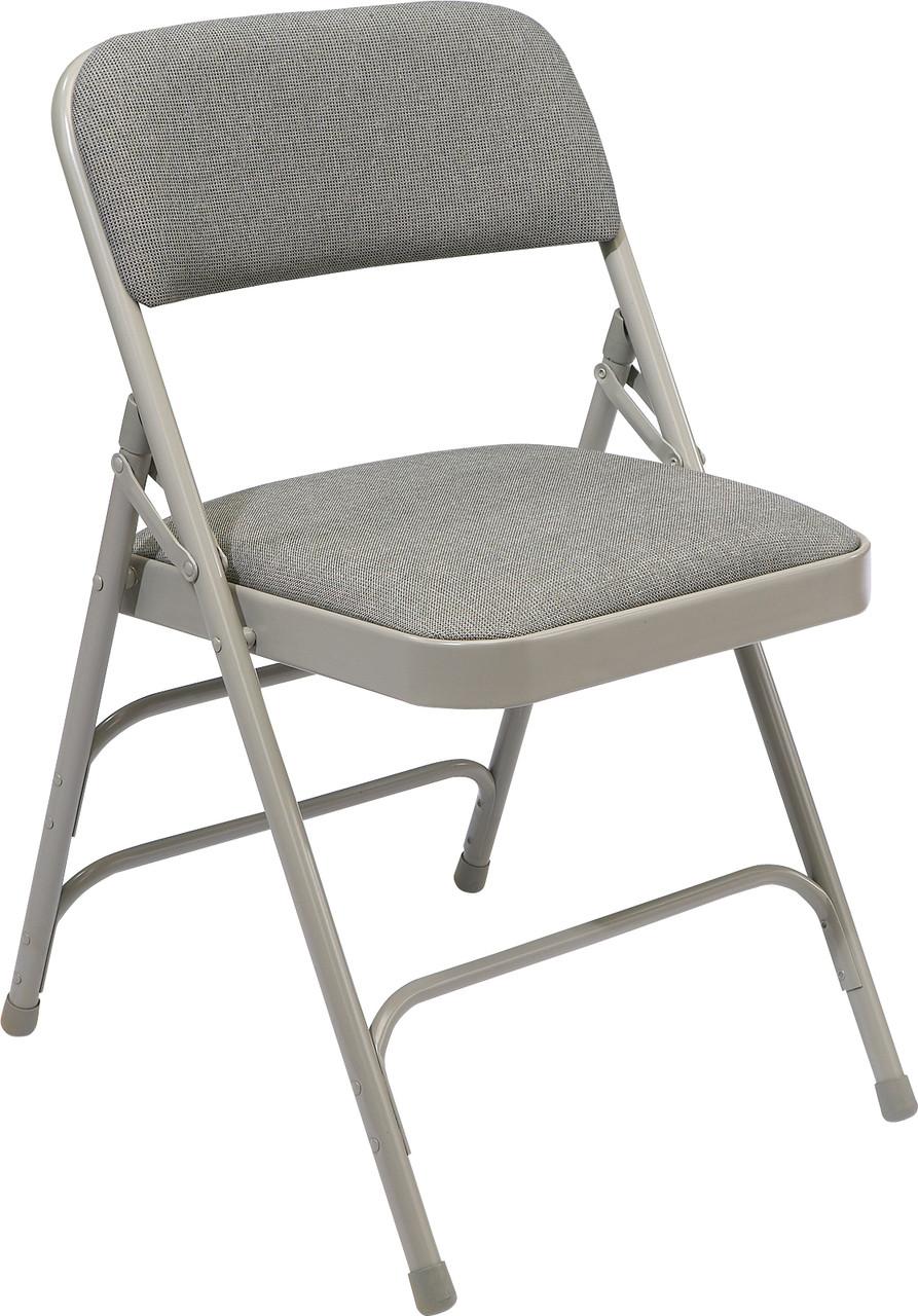 prodigious National Public Seating Folding Chairs Part - 18: National Public Seating 2300 Fabric Upholstered Triple Brace Premium Folding  Chair ...