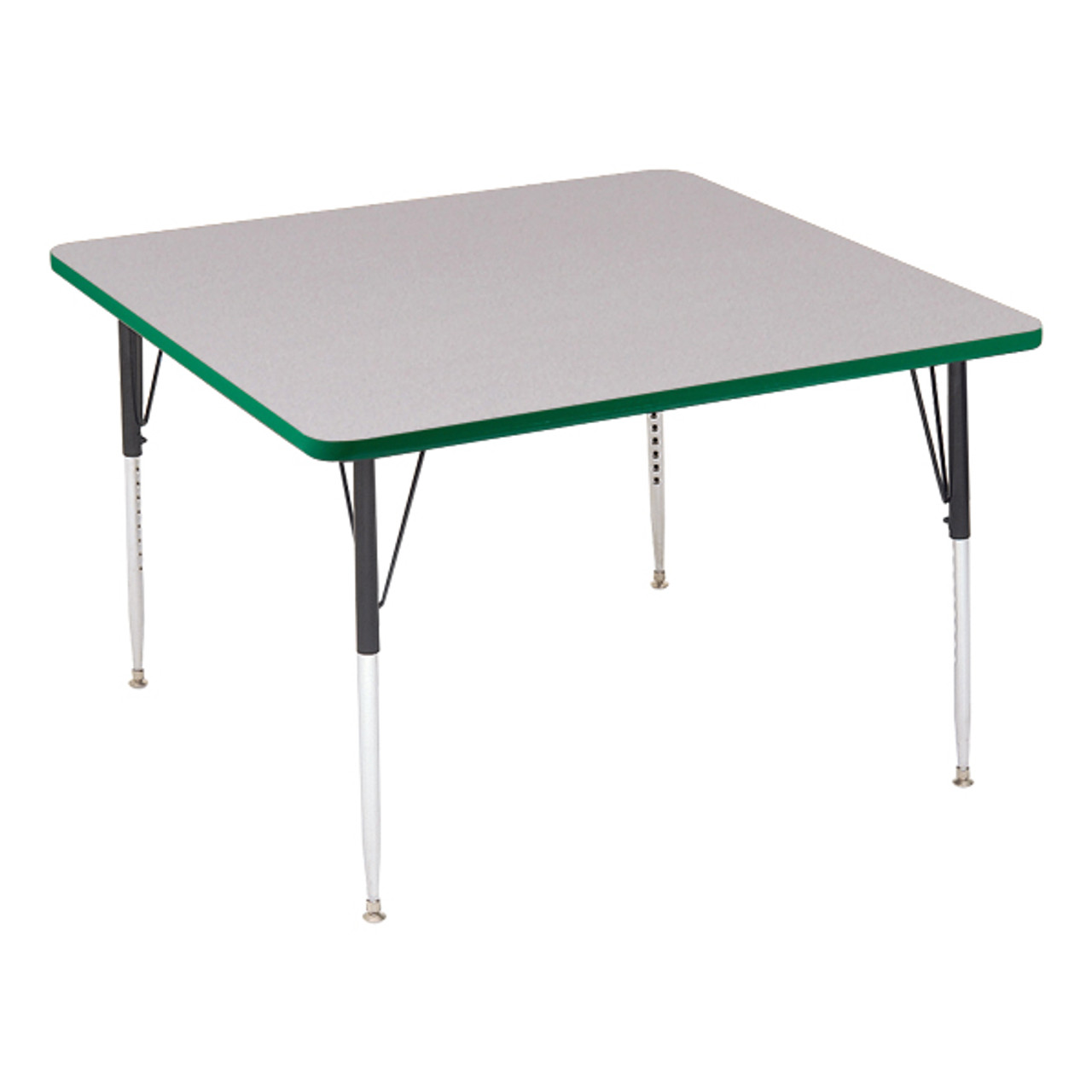 Superbe ... A4242 SQ High Pressure Square Shape Activity Table 42 Inch Diameter  Adjustable Height ...