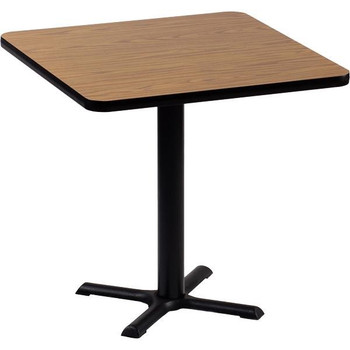 Allied TB3636 Cafe Table With Cross Base 36 X 36 Square