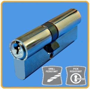 Standard Double Door Lock Euro Cylinders