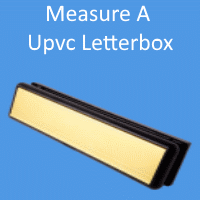 How to measure your UPVC Letterbox