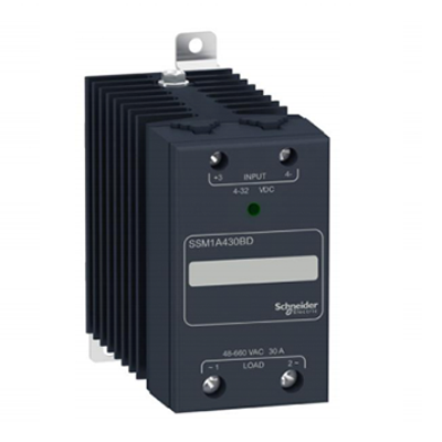 SSM1A430BD 30A Solid State Relay 4-32Vdc Input, 48-660Vac Output