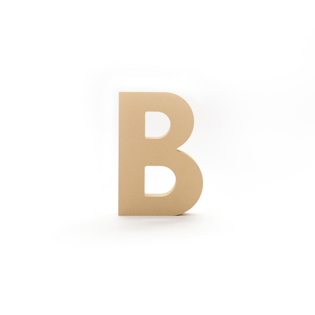 8 h x 1 thick unfinished wood block letters letter b b d custom