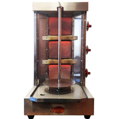 Spinning Grillers® Shawarma Machine - Gyro Machine-Donar Kebab Machine-Tacos Al Pastor Machine - Vertical Rotisserie and Kebab Grill SG2-1