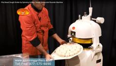 Heavy Duty 30 Part Pita Dough Divider & Rounder