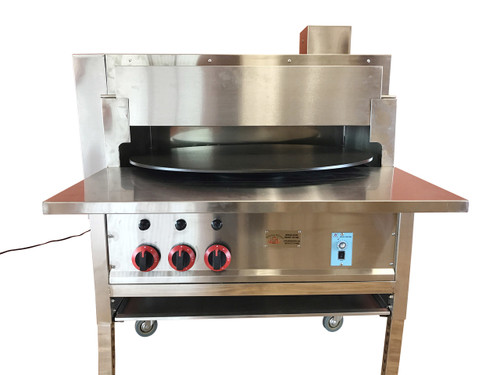"Pita Oven Small 30""- PitaOven- Pita Bread, Tortilla, Naan Bread Oven- Natural Gas- Generation III 2017"