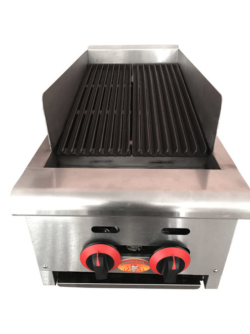 "Char Broilers Charbroiler Small SG4212 14"" Compact"