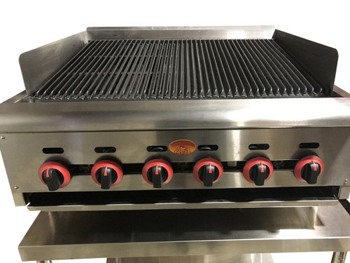 Gas Char Broiler - Spinning Grillers  - 1