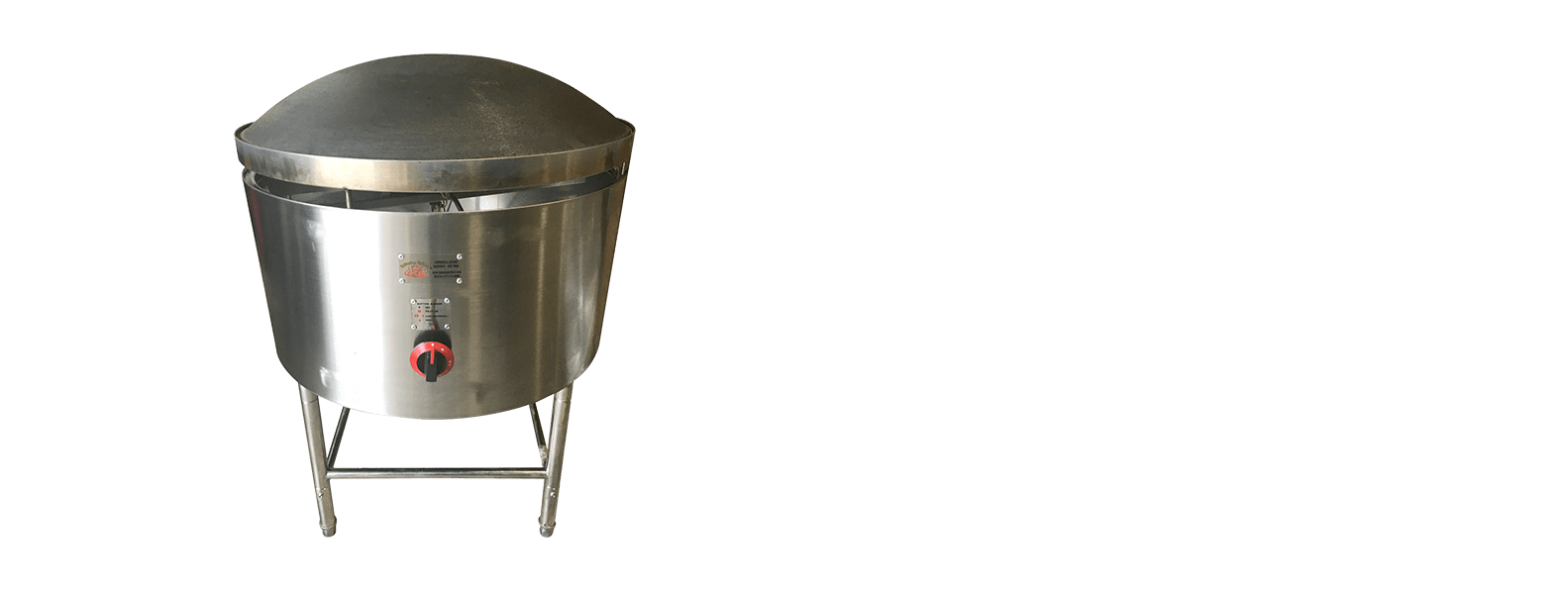 Saj Bread Maker - 1/2 inch Diameter With Stand