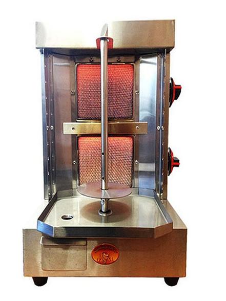 Shawarma Machine Vertical Broiler 2 Burners Sg1