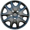 Black Wheel Cover - 14 inch Matte Black Hubcap