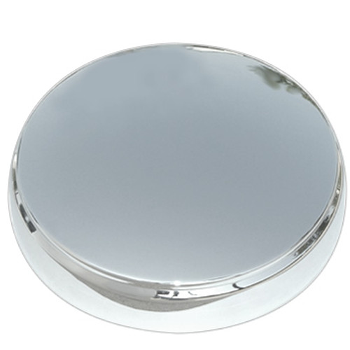 50' Merc Solid Stainless Steel Center Cap Baby Moon Wheel Cover