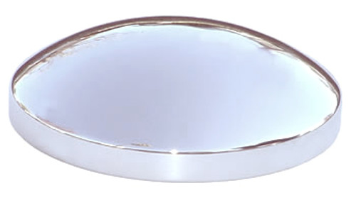 9-5/16 inch Size Baby Moon Steel Chromed Hubcap Cover
