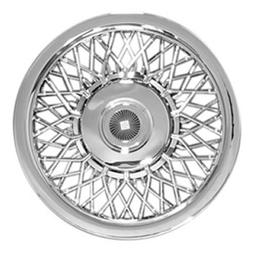 Chromed Spoke 15 inch Hubcap