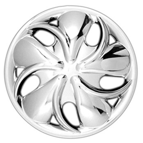 Custom 133-14c Chrome Finish 14 inch Hubcaps