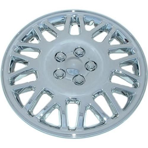 16 inch Hubcap Custom 406-16s Chrome Finish Wheel Cover
