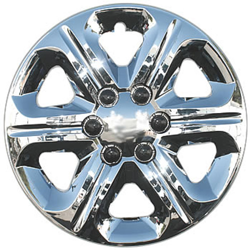 "09' 10' 11' 12' 13' Traverse Hubcaps 17"" Chrome Finish Bolt-on Traverse Wheel Cover"