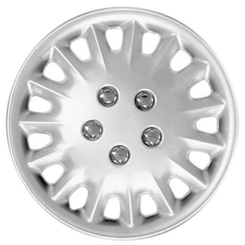 Custom 107-15s Silver Finish 15 inch Hubcaps