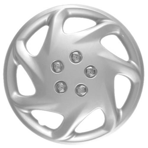 Custom 192-15s Silver Finish 15 inch Hubcaps