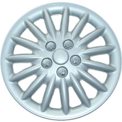 16 inch Hubcaps Custom 188-16s Silver Finish