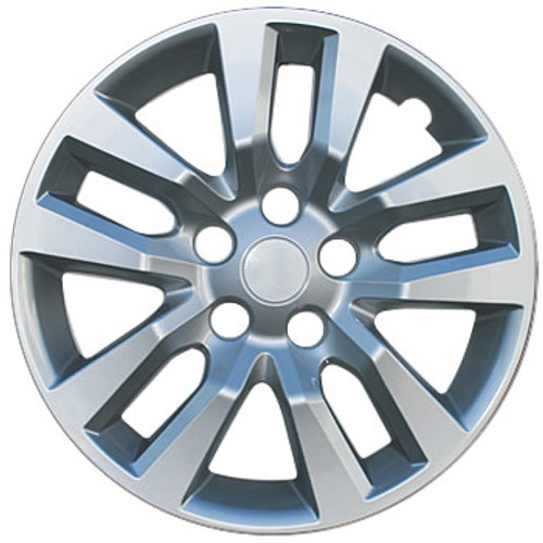 2013 - 2015 Altima Hubcaps Silver Replacement for Nissan Altima OEM 16 inch Wheelcover