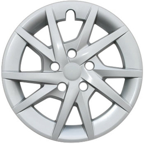 """12' - 17' Toyota Prius Hubcaps with Silver Finish for 16"""" Wheel"""
