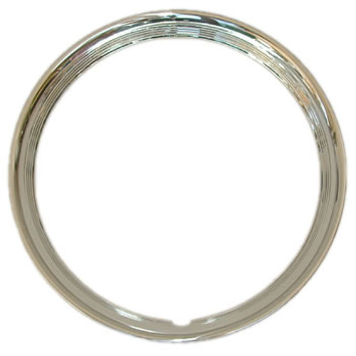 4 Ribbed Trim Ring  1-5/8 inch Deep Solid Stainless Steel