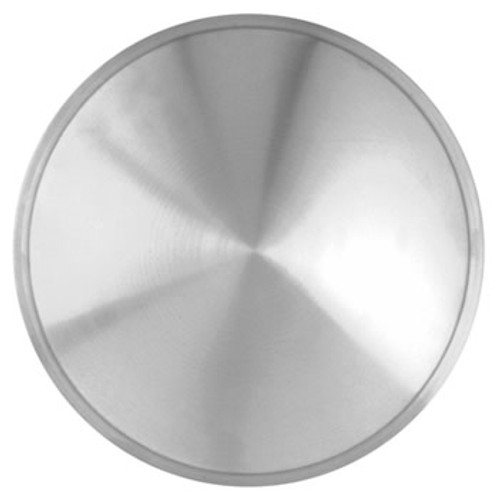 """Racing Disc Hubcaps - 12"""" Pop-On Stainless Steel"""