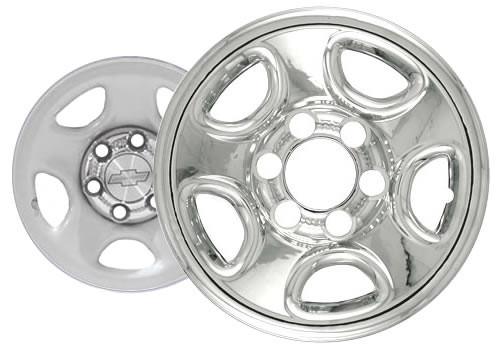 "00-05' Chevrolet Suburban Wheelcover Wheel Skin 16"" Six Lugnut Chrome Finish"