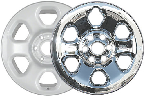 Nissan Titan Wheelskins Like Truck Chrome Wheels Only They