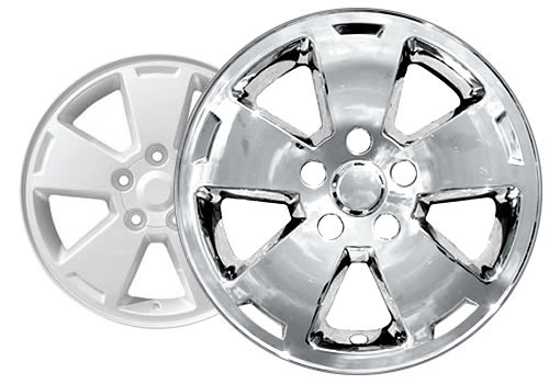 06'-07' Chevy Monte Carlo Wheel Skins Chrome Wheel Covers for 16'' Alloy Wheels